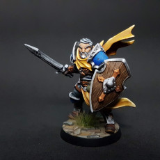 Human Fighters Guild - A (Male) Modular