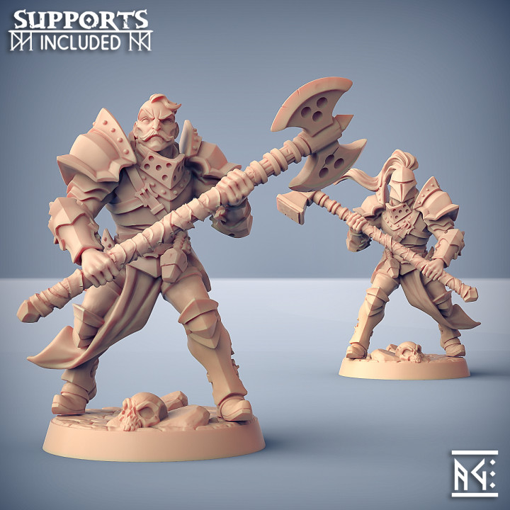 Human Fighters Guild - B (Male) Modular