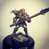 Human Fighters Guild - D (Lady) Modular image