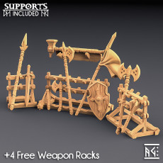 Weapons for Loot & Racks: Fighters Guild Set