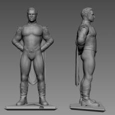 Homelander Statue