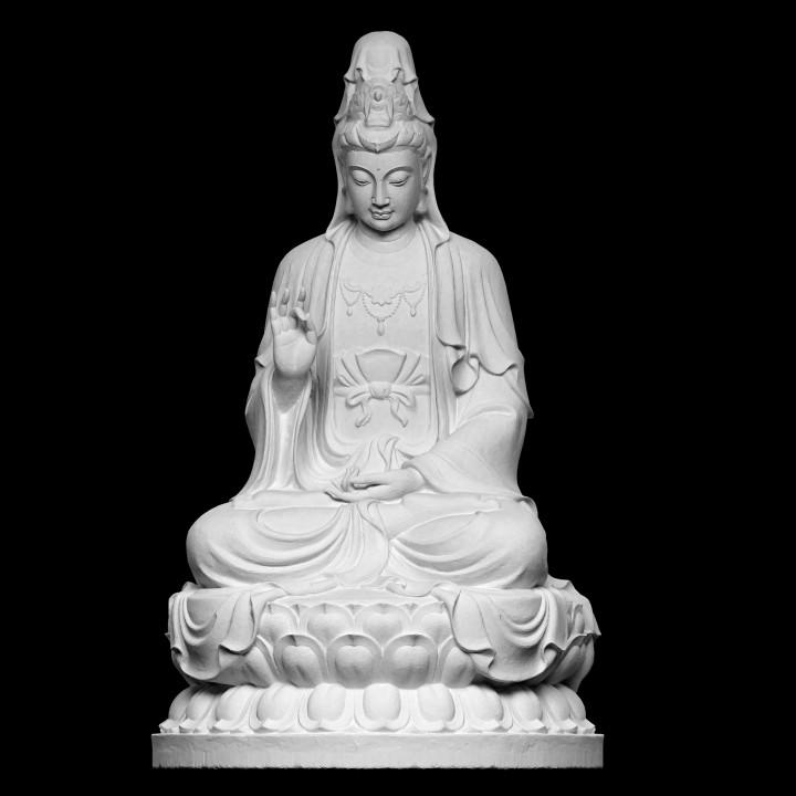 Guanyin on Lotus