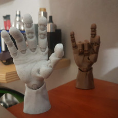 Picture of print of Articulated Poseable Hand