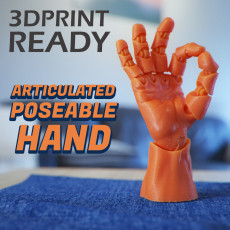 Articulated Poseable Hand