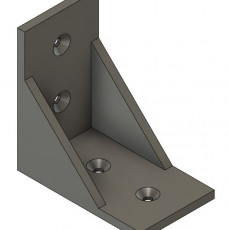 90 degree angle support bracket