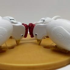 Chicken picking toy