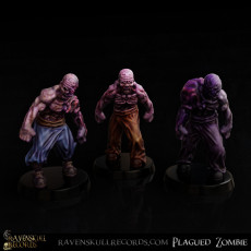 Plagued Zombies Miniatures