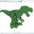 Motorized, Articulated T Rex(ish) Pin Walker image