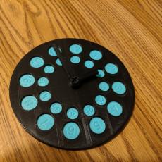 777 Educational Aid Clock