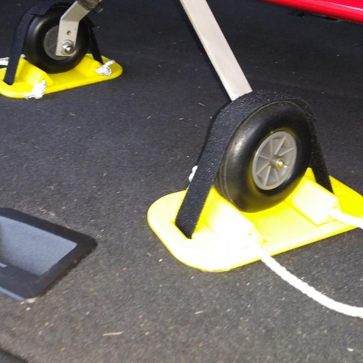 Wheel Chock Set MK3- 70mm (2.75 inch)