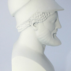 Picture of print of Warrior with Helmet, Miltiades