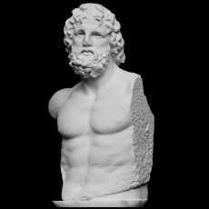Torso, Asklepios from Munichia