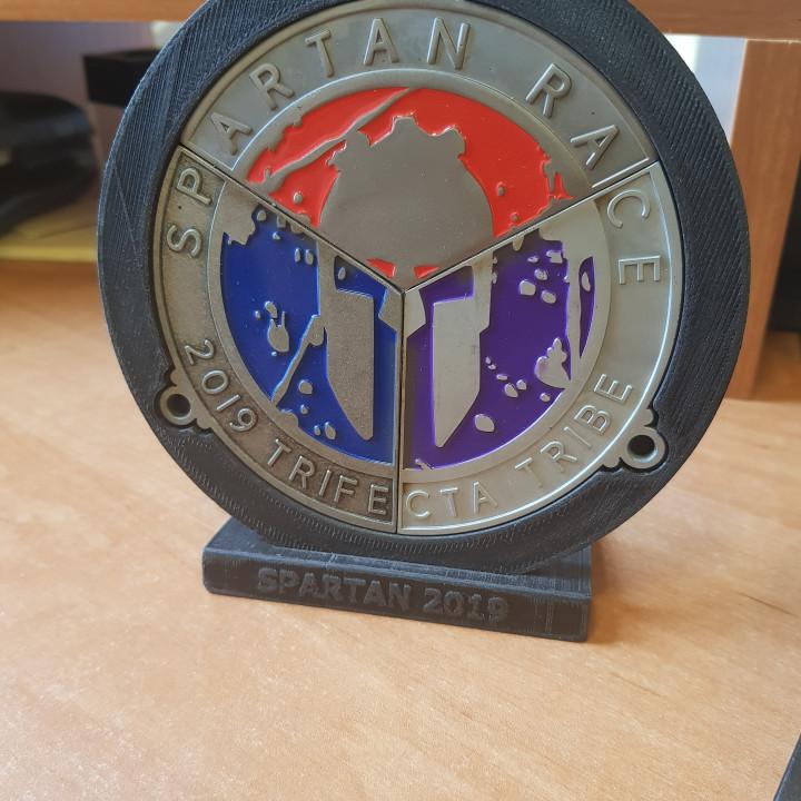 SPARTAN Trifecta Medal Holder
