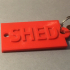 Shed Key Chain image