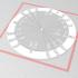 Unit Circle Keychain image