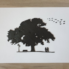 Couple In Love 2D Wall Art