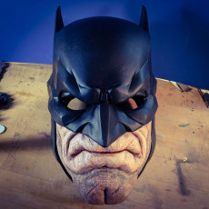 The Bat Chin - Batman Mask