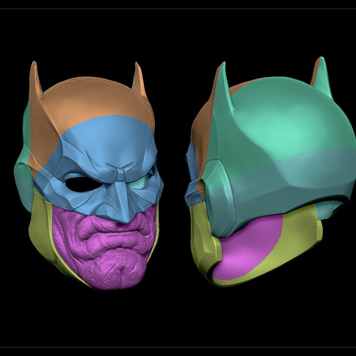 The Bat Chin - Batman Mask