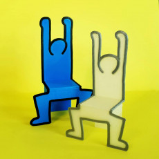 Doodle Chair - 3D Printed Doll Furniture