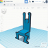Doodle Chair - 3D Printed Doll Furniture image