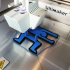 Keith Haring Child Chair - 3D Printed Doll Furniture image