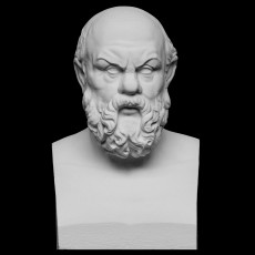 Portrait of Socrates (469-399 BC)