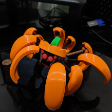 Halloween Pumpkin Spider Transformer Multimaterial