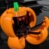 Halloween Pumpkin Spider Transformer Multimaterial image