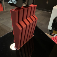 Picture of print of Knife block for Large and Pairing Knives