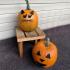 Mr. Pumpkin Head/Halloween Dog Pumpkin Face/Easy Kids Halloween Craft image