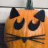 Pumpkin Paw Print, Halloween Paw Print, Kids Halloween Craft, Animal Paw Design, Animal Lover image