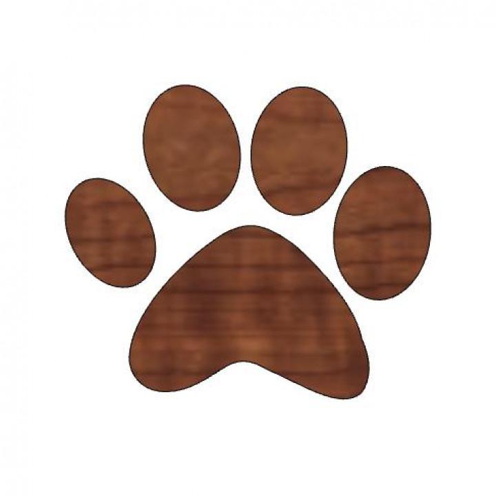 Pumpkin Paw Print, Halloween Paw Print, Kids Halloween Craft, Animal Paw Design, Animal Lover