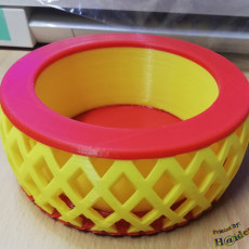 Picture of print of Criss Cross Planter