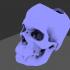 Vampire Skull Planter / Vase image