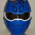Jungle Fury Blue Ranger Helmet image