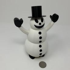 Snowman Pin Walker