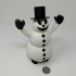 Snowman Pin Walker image