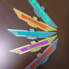 (ALTERNATE) Ford Thunderbird-inspired NFL Bird Teams Logos