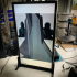 """Simple vertical monitor mount / stand ( for 28"""" Samsung U28E59D monitor ) image"""