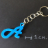 3d Letters for keychain and more image
