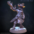 Shapeshifter - Werewolf miniature 32mm (Pre-supported) image