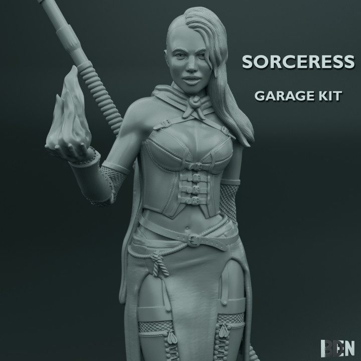 Sorceress Garage Kit