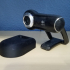 Raised stand for Logitech QuickCam Pro 9000 - #wildxwyze image