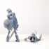 Skeleton Knight - DnD Monster - 2 Poses image