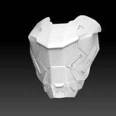 Anthem - Ranger Javelin Facemask (Fan Art)