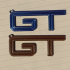 2005 GT FENDER BADGE KEYCHAIN image