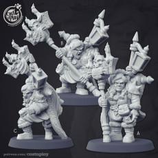 Dwarven Warlocks
