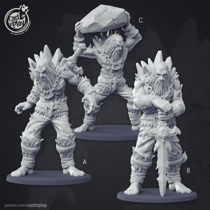 Frost Giant (Pre-Supported)