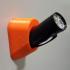 Harbor Freight flashlight holder image