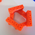 OKTEN: 3D printed parametric and compatible construction system image